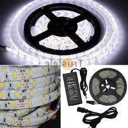 ElcPark Flexible Waterproof Cool White LED Strip Light with