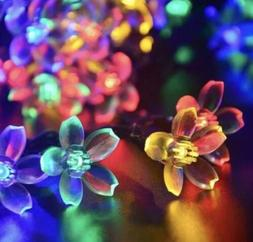 Flower Fairy Lights 10 LED String Battery Power Operated 2AA