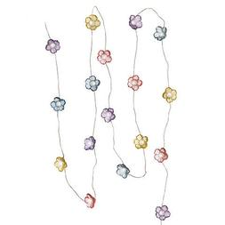 Darice Flower String Lights: 1 x 80 inches w