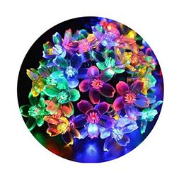 Fullbell Flower String Lights, Sakura Lights, Indoor/Outdoor