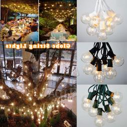 G30/G40/G50 25/100 Foot Outdoor Globe String Lights for Xmas