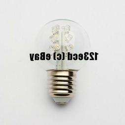 G50 Led Bulb Cool White 16 Led's Inside - G50 cool white LED