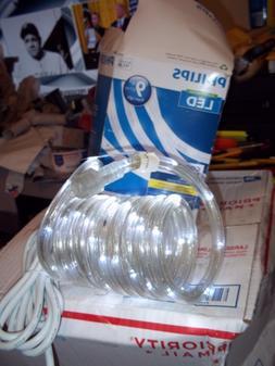 GENUINE PHILIPS LED ROPE LIGHTING 9' COOL WHITE 85% ENERGY S