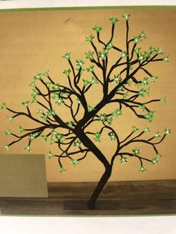 Gerson Everlasting Glow 23 Inch 96 GREEN LEDS  Desk Top Tree