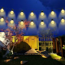 Globe Outdoor String Lights Patio Party Xmas Yard Waterproof