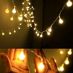 Dailyart Globe String Light,LED Starry Light Fairy Light for