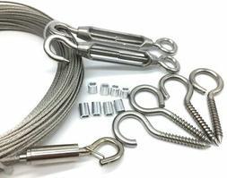 globe string light suspension kit