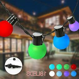 Globe String Lights RGB Party Lights Color Changing for Pati