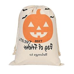 Gotd Halloween Candy Bag Satchel Rucksack Bundle Pocket Draw