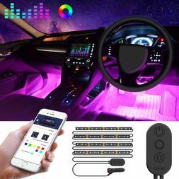 Govee Unifilar Car Led Strip Light, Minger App Controller Ca