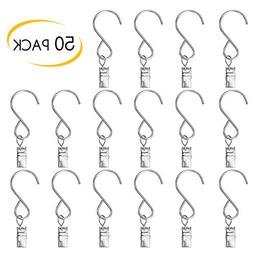 50PC Hanger Hanging Clamp Hooks Hanger Clips for Party Strin