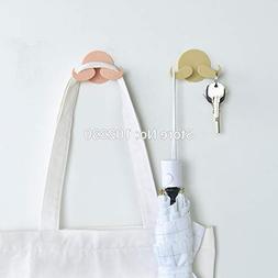 Hangers For - Mustache Plastic Door Hanger Wall Sticky Hooks