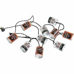 Harley-Davidson Oil Can String Party Lights - 10 ft. Orange
