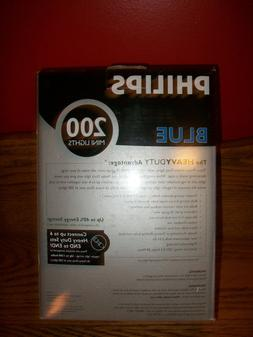 PHILIPS Heavy Duty Blue Mini Lights, 200 in Box. Indoor/Outd