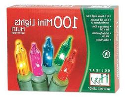 Holiday Wonderland #565223 100-Count Multi Color Christmas L