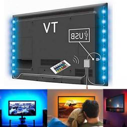 LED Home Theater TV BackLight Accent RGB Multi-Color-Changin