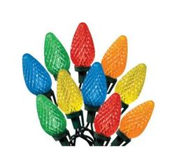 Celebrations 47736-71 Indoor/Outdoor C9 LED Multi-Color Ligh