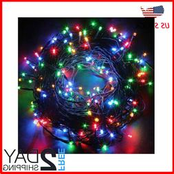 Indoor Outdoor String Lights with 8 Color Changing Modes 66f