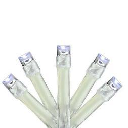 Kaemingk 48 Cool White LED B/O 8-Function Outdoor String Lig