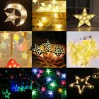 1.6M~10M Fairy String Star Light Wedding Xmas Party Outdoor