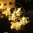 10 LED Photo Star Clip String Lights Battery Operated for Be