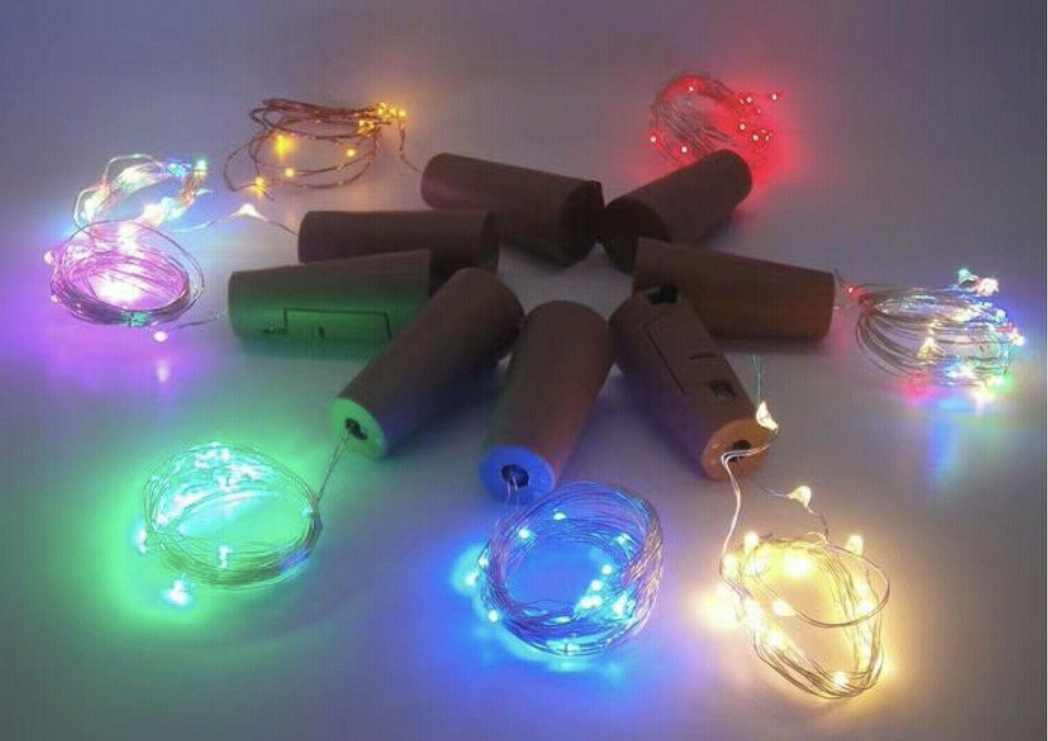 5/ 10pc Fairy LED Party 2M