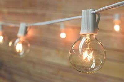 Fantado 10 Socket Patio String Light G40 Globe 21 FT
