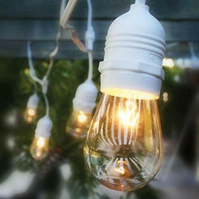 10 socket vintage outdoor string light ps50