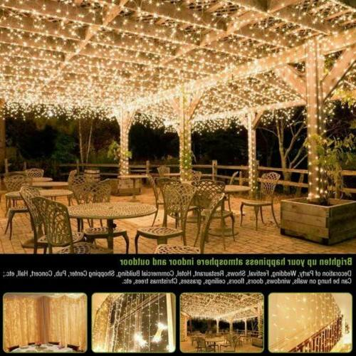 100/200/500/1000 LED Fairy Lights Party Warm White/RGB