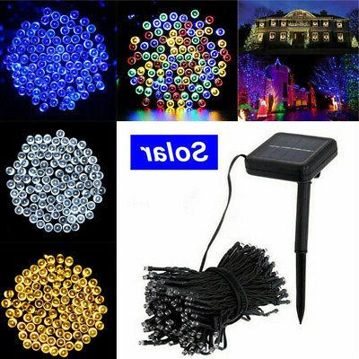 100 200 500 Solar Lights Garden Wedding Lamp