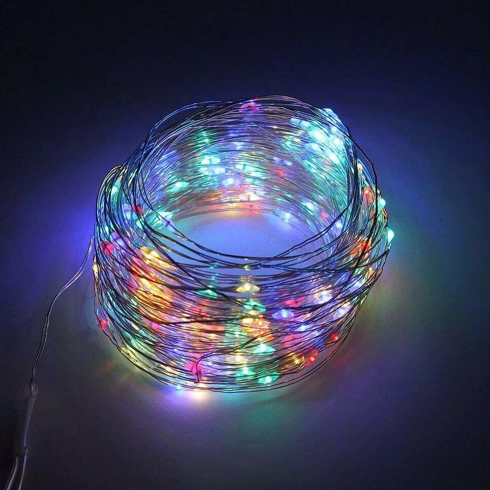 100/200 LED Solar String Light Wire