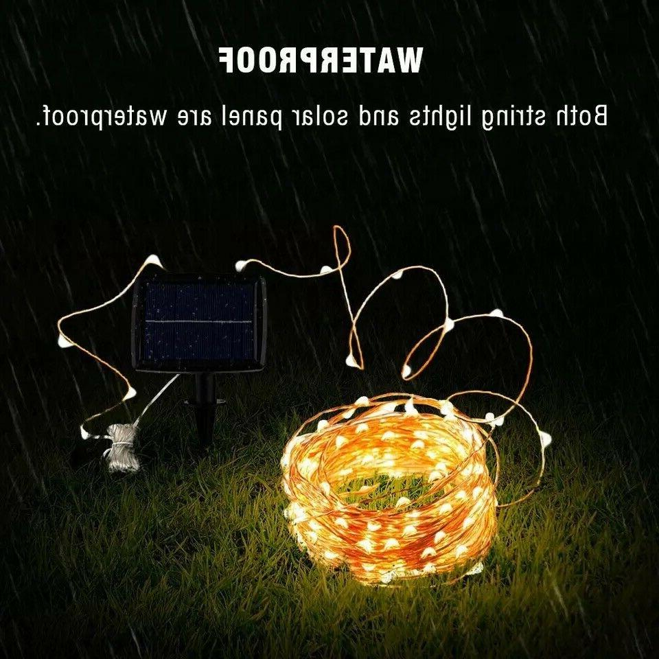 100/200 Fairy String Light Copper Wire Outdoor