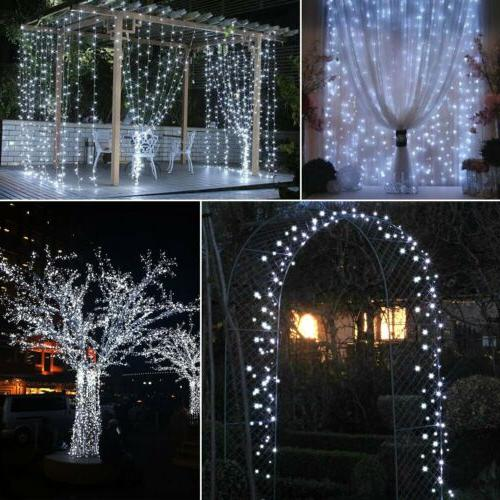 100/200 Fairy String Light Copper Wire Outdoor Waterproof Decor
