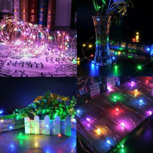 100/200 LED Solar Fairy String Light Outdoor Waterproof
