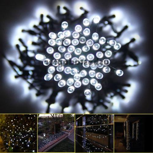 100/200 LED Solar Fairy Lights Waterproof Party Decoration
