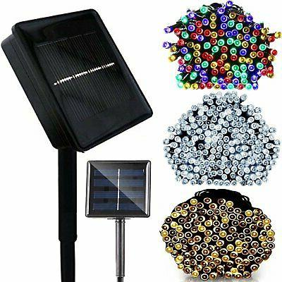 100 200 led solar string lights party