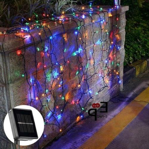 100-200 Solar String Lights Garden Party Xmas Wedding