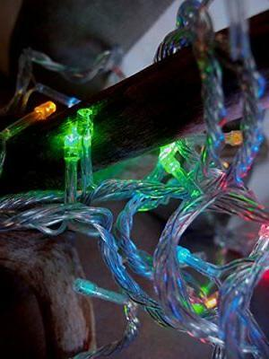 100 Indoor/Dry Multicolor RGB LED Mini Lights, 28FT