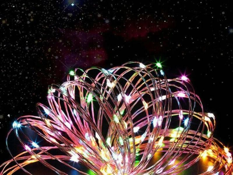 100 10M String Lights Wire
