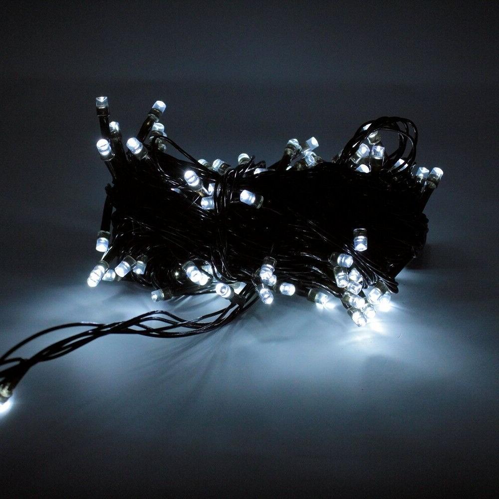 100 String Lights - Purple, White, Halloween