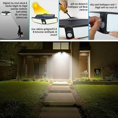 100 Motion Sensor Outdoor Floodlight