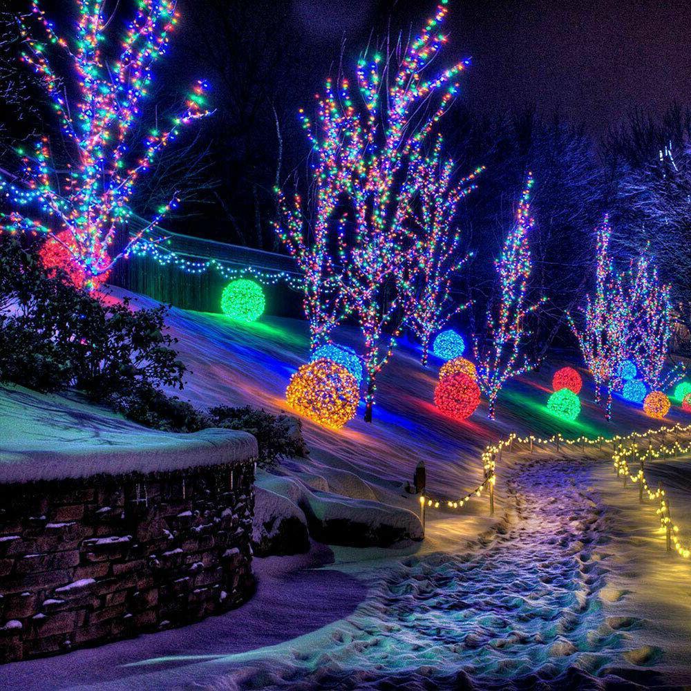 100 LED Solar Lights Xmas