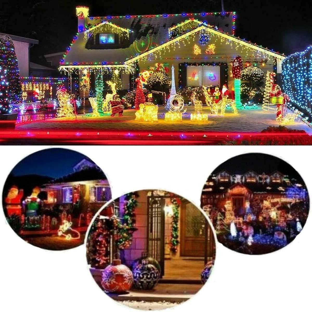 Solar LED String Lights Wire Home