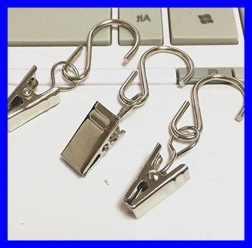 100 Hanger Clamp Hooks Clips For String Lights Supplies