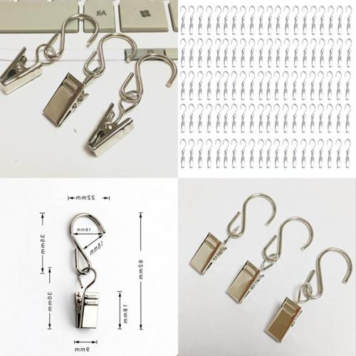 100 pcs party light hanger hanging clamp