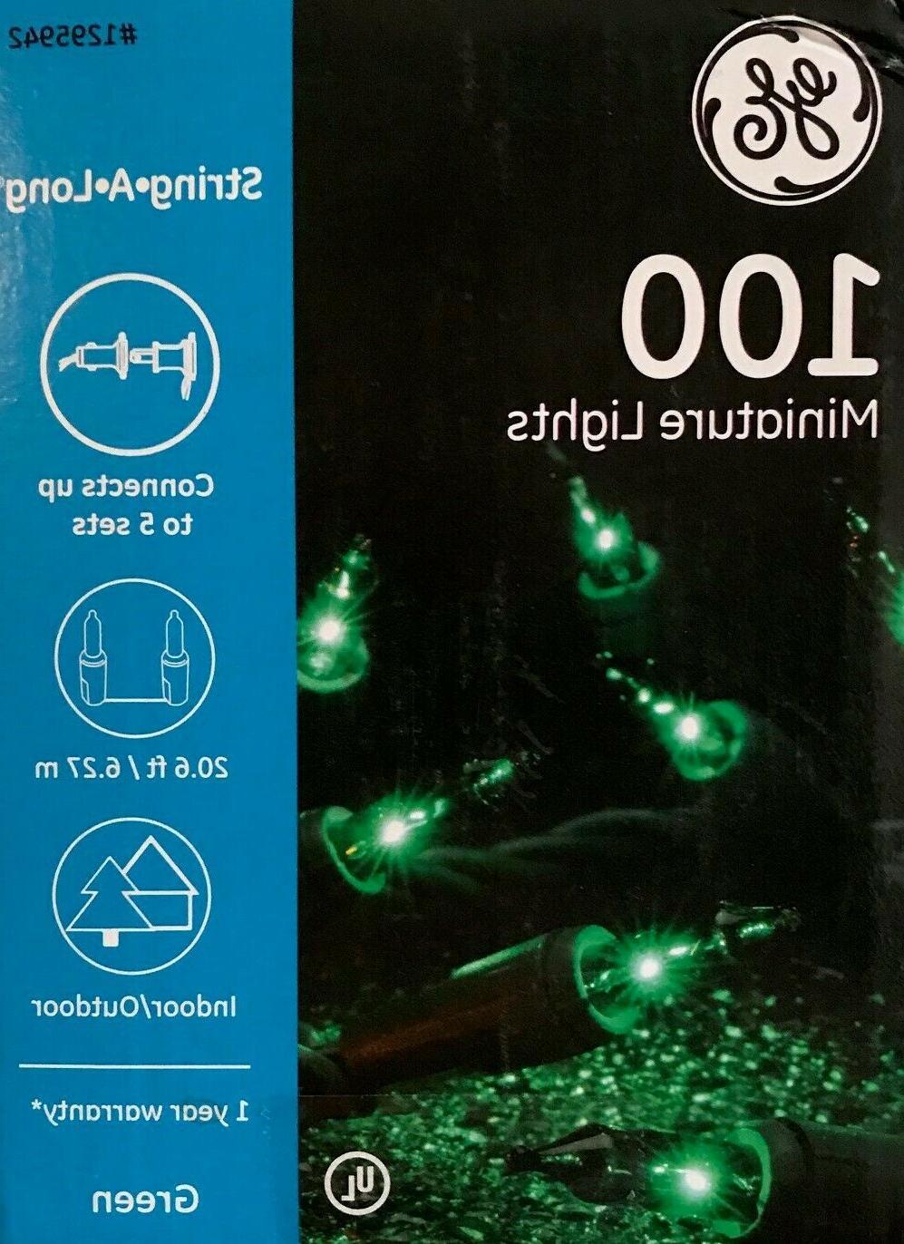 "100 GE String-A-Long ""Mini"" String Green 20 Choice"