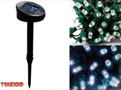 Aleko Solar Decorating String Lights, 35'