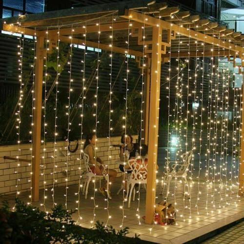 10ft 300 Window Icicle Lights Decor