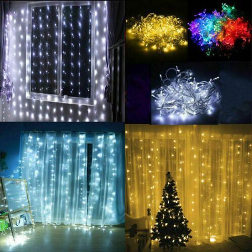 10ft LED Xmas Window Lights Decor