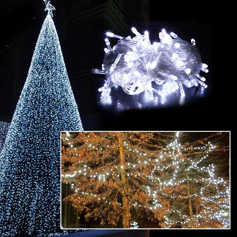 10M LED Tree Fairy Lights Xmas Waterproof